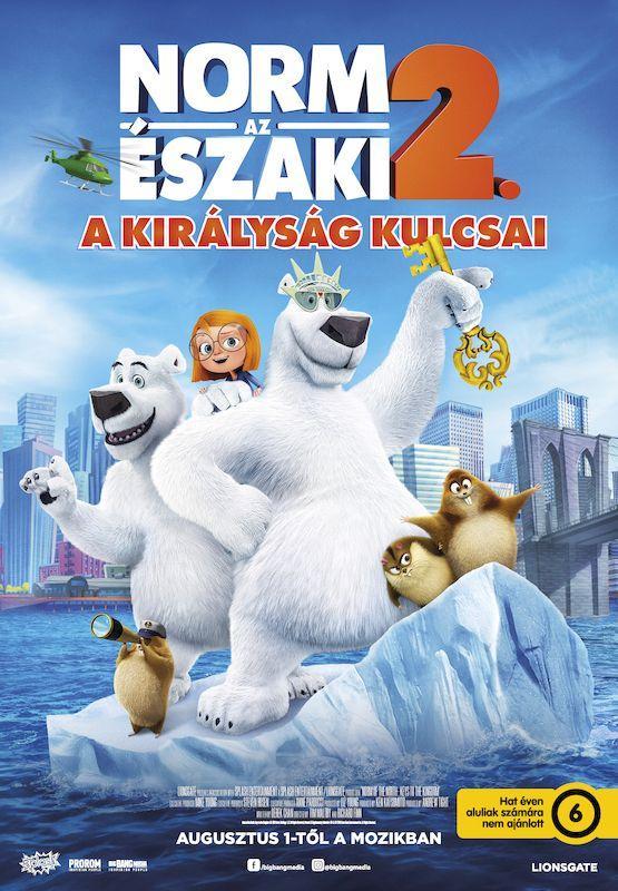 Norm, az északi 2 - A királyság kulcsai (2018) amerikai film plakátja