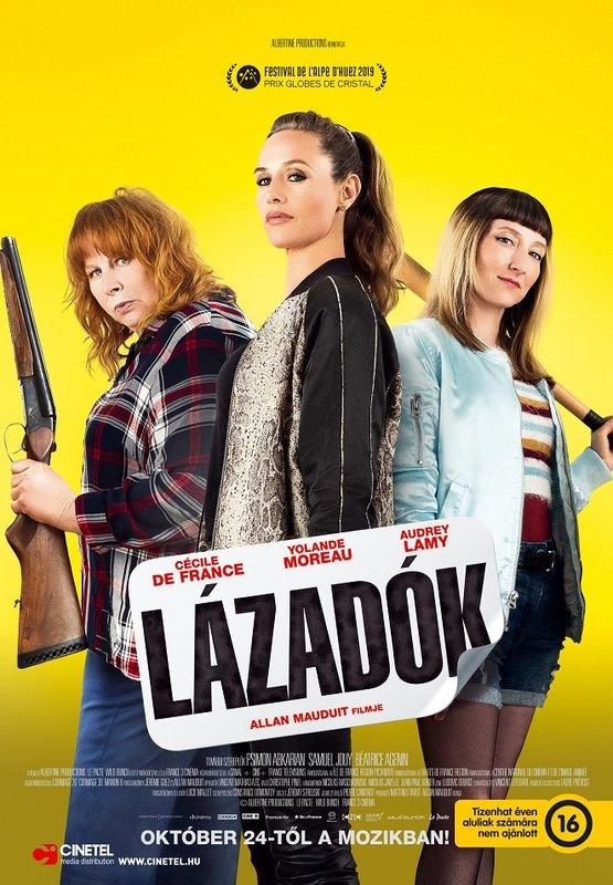 Lázadók (2019) francia film plakátja